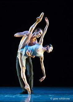 Yuan Yuan Tan and Damian Smith, San Francisco Ballet - Photographer Gene Schiavone