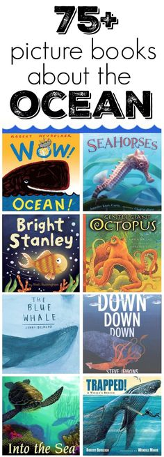 75 picture books about the ocean