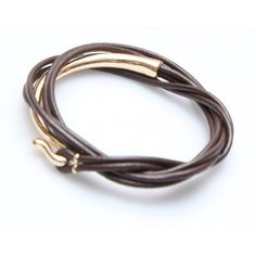 Nakamol Itzel Wrap-Brown/Gold (359907201) ($23) ❤ liked on Polyvore featuring jewelry, bracelets, multi, handcrafted gold jewelry, gold wrap bracelet, handcrafted jewelry, wrap jewelry and brown gold jewelry