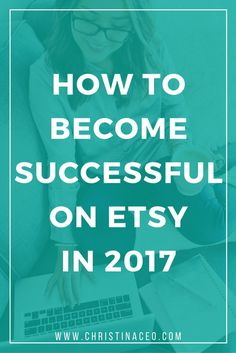 Start your new year off right with these simple tips that will help you become successful on Etsy in Etsy shop success tips & tricks, how to sell on Etsy Etsy Business, Craft Business, Creative Business, Online Business, Business Planning, Business Tips, Business Essentials, Business Company, Marketing Website