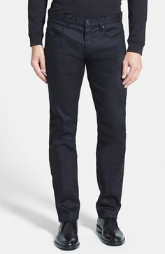 BOSS HUGO BOSS 'Hugo 708' Slim Fit Jeans available at #Nordstrom