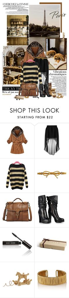 """""""Here Again"""" by color-me-red ❤ liked on Polyvore featuring La Femme, TALLY WEiJL, Burberry, FOSSIL, Jil Sander, Bobbi Brown Cosmetics, Jigsaw, Hermès and Kate Spade"""