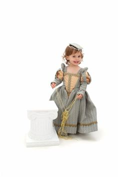 Renaissance Gown Custom Princess Heirloom Girls by nellicarave, $299.00