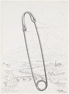 Man Ray; 'Safety Pin', 1936