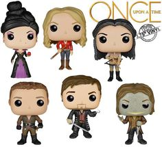 Awesome Once characters Funko Pops