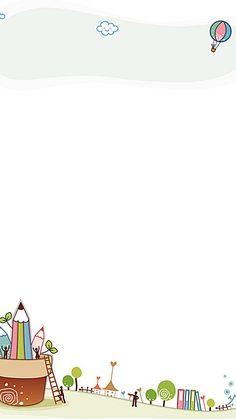 Poster Background Design, Kids Background, Powerpoint Background Design, Flower Background Wallpaper, Background Patterns, Boarder Designs, Page Borders Design, School Border, Snapchat Logo