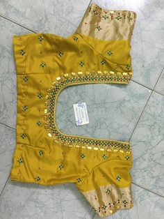 Discover thousands of images about Sudhasri hemaswardrobe Wedding Saree Blouse Designs, Pattu Saree Blouse Designs, Blouse Designs Silk, Designer Blouse Patterns, Dress Neck Designs, Kids Blouse Designs, Simple Blouse Designs, Maggam Work Designs, Fancy