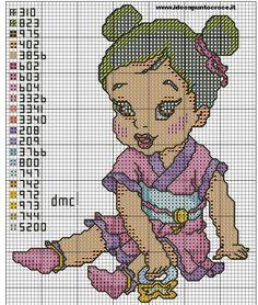 Princesa Mulán de bebé