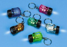 Awesome Bright Flashlight Keychains -- by the dozen