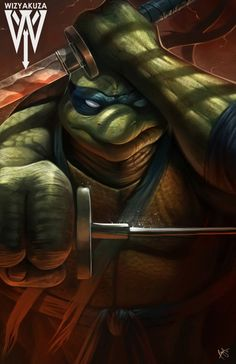 Leonardo (Leo) - Teenage Mutant Ninja Turtles - 11 x 17 impresión Digital