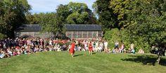 Journées du patrimoine 2012 - Le jardin du Domaine Royal de Randan