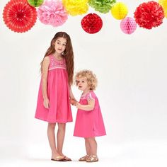 Girl Embroidered Bodice Dress