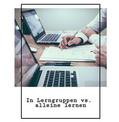 Könnt ihr euch nicht entscheiden, ob ihr lieber in der Gruppe oder alleine lernen wollt? Wir haben in unserem neuen Beitrag die Vor- und Nachteile der jeweiligen Lernmethode aufgelistet! ✍🏼  Euer study-Team 🎓  #study #studygram #lernen #motivation #lerngruppe #uni #lernmethode #studylifebalance #alleinelernen #klausurenphase #klausur Uni, Motivation, Blog, Learning Methods, Group, Studying, Blogging, Determination