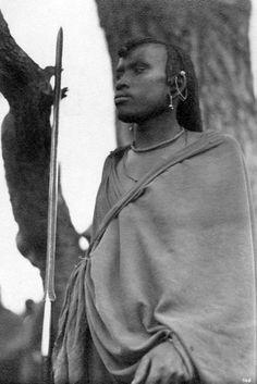 MAASAI Warrior, Kenya. Photo Zagourski