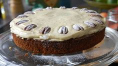 Engelsk gulrotkake Sweet Recipes, Hygge, Carrots, Muffins, Cheesecake, Gluten Free, Apple, Eat, Desserts