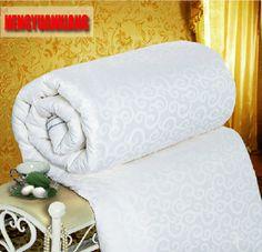 White Silk Winter Comforter Brands 100 Silk Winter Blanket edredon aire acondicionado edredom Silk Quilt Aircondition for Home #Affiliate