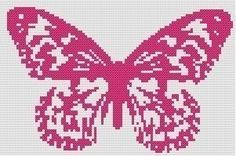 Butterfly Counted Cross Stitch Pattern by WooHooCrossStitch, $9.00