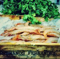 Gamba blanca de Huelva.  www.restaurantecasalucio.com