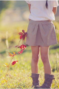 Patron de couture / Jupe MINI-PERLE version A (forme tulipe), Ivanne.S