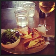 """@megdizzle210's photo: """"the best gouda grilled cheese ever at Queens Kickshaw"""""""