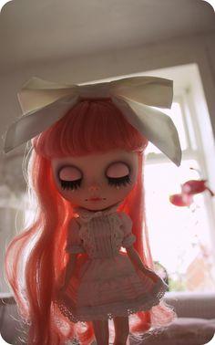 Blythe Doll pretty in pink <3