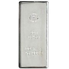 100oz RCM Royal Canadian Mint Silver Bar