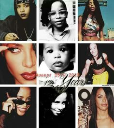 Aaliyah 1979~2001 Remembering her always ❤️
