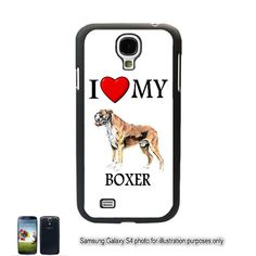 Boxer I Love My Dog Samsung Galaxy S4 S IV Case Cover by BlingSity, $11.95