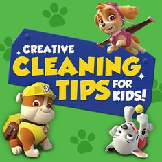 Need help getting your kids to clean up? #NickJr