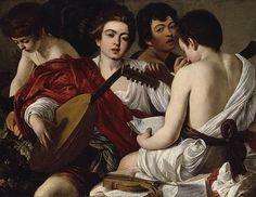 The Musicians, ca. 1595 Caravaggio (Michelangelo Merisi) (Italian, Lombard, 1571–1610)