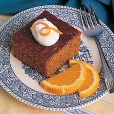 Gingerbread Recipe, Taste of Home