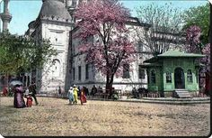 Beyazıt - 1900'ler kartpostalı.Muhteşem bir görüntü..
