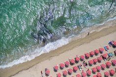 beach : ariel view