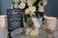 Elegant white and ivory wedding table settings. Flowers by Diamonds & Pearls Event Styling. Photography by Rikki Hibbert. Wedding Stationery, Wedding Invitations, Wedding Table Settings, Ivory Wedding, Event Styling, Card Tags, Poppy, Rsvp, Chalkboard