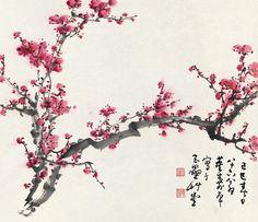 plum blossom artwork