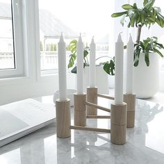 This perfect wooden candle light holder arrived today From @skagerak_denmark #skagerakdesign