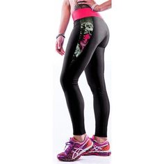 Fashionable Multi-Color 3D Print Legging for Women - High Waist GYM / YOGA / RUNNING Sports Pants