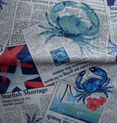 52x52-Square-The-Daily-Crab-Vinyl-Flannel-Backed-Tablecloth-multi-color-Elrene