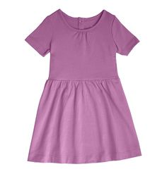 the short sleeve dress - Only from Primary - Solid color kids clothes - No logos, slogans, or sequins - All under $25