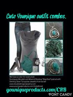 Beautiful grays and turquoise