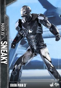 Iron Man 3 1/6th scale Sneaky (Mark XV) Collectible Figure