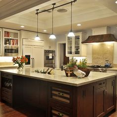 Knotty Alder Stained Kitchen Cabinets Design, Pictures, Remodel, Decor and Ideas - page 6
