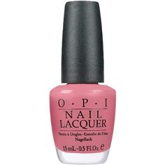 O.P.I Nail Polish in Japanese Rose Garden 15ml found on Polyvore
