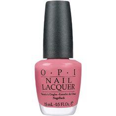 O.P.I Nail Polish in Japanese Rose Garden 15ml ($18) ❤ liked on Polyvore featuring beauty products, nail care, nail polish, nails, makeup, beauty, fillers, opi, opi nail color and opi nail lacquer