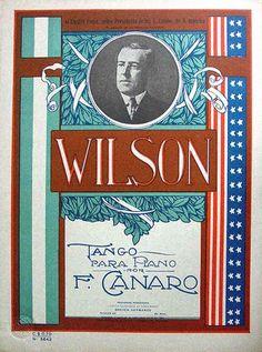 Wilson, tango para piano, de Francisco Canaro