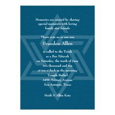 ==>>Big Save on          	Bar Mitzvah Star of David Teal Blue Invitations           	Bar Mitzvah Star of David Teal Blue Invitations We have the best promotion for you and if you are interested in the related item or need more information reviews from the x customer who are own of them before pl...Cleck Hot Deals >>> http://www.zazzle.com/bar_mitzvah_star_of_david_teal_blue_invitations-161099650763487954?rf=238627982471231924&zbar=1&tc=terrest