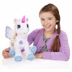 Starlily My Magical Unicorn FurReal Friends Fur Real Kids Toy Girls Boys Toys #FurReal #giftideas #christmaspresent #kidstoys #starlily #unicorn