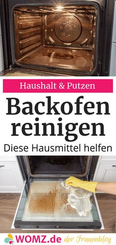 Backofen reinigen: Hausmittel statt Chemie – WOMZ – Keep up with the times. Household Cleaning Tips, Cleaning Checklist, Cleaning Hacks, Cake Recipes From Scratch, Easy Cookie Recipes, Mascarilla Diy, Lunch Lady Brownies, Chocolate Flavors, Home Hacks