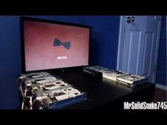 Doctor Who Theme on eight floppy drives- Oh YES, Oh yes, more, give me more