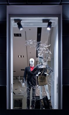 "SANAHUNT LUXURY CONCEPT STORE, Kiev, Ukraine, ""Laughter.... sparkles like a splash of water in sunlight"", pinned by Ton van der Veer"